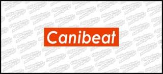 Canibeat 15cm Czerwono Biała
