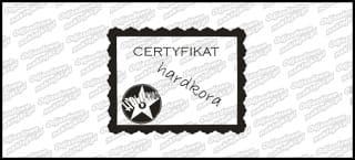 Certyfikat Hardkora 15cm
