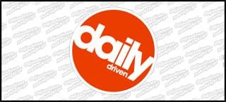 Daily Driven B Biało Czerwona 10cm kolor