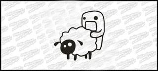 Domo fuck Sheep 15cm