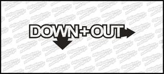 Down+out 15cm