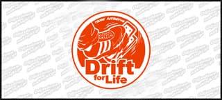 Drift fof Life E 10cm Kolor