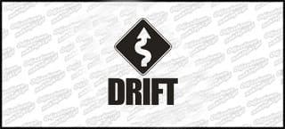 Drift Sign 15cm