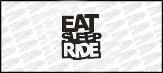 Eat Sleep Ride 10cm