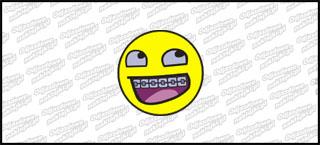 Emot Hoarrr Smiley 5cm