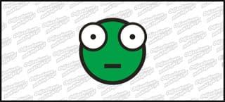 Emot Shoker A 10cm Zielony