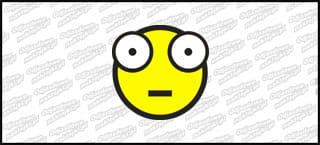 Emot Shoker A 10cm żółty