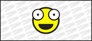 Emot Shoker B 10cm żółta