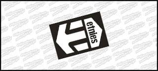 Etnies Logo Color 10cm