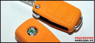 Etui na klucze pomarańczowe VW/SEAT/SKODA