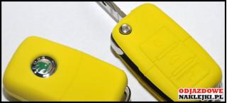 Etui na klucze żółte VW/SEAT/SKODA