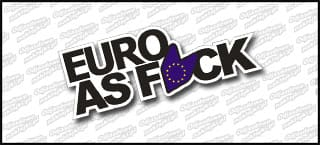 Euro as fuck 15cm kolor