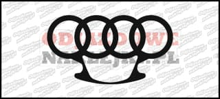 euro brass knuckles audi 12cm