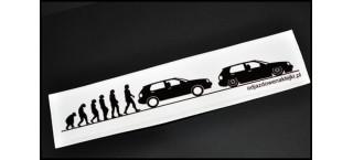 Evolucja VW Golf Mk3 20cm Kolor