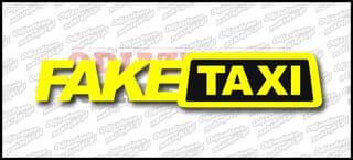 Fake Taxi 45cm żółto czarna