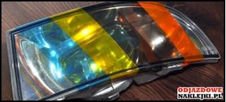 Folia na światła kolor jasno szary format A4
