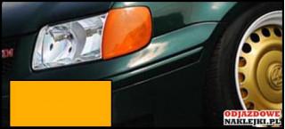 Folia na światła kolor pomarańczowy format A4