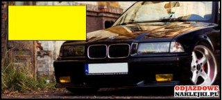 Folia na światła kolor żółty format A4