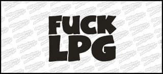 Fuck LPG 15cm