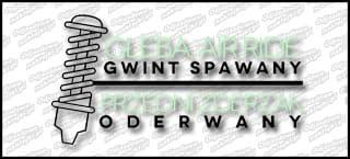 Gleba Air Gwint Spawany 15cm biało miętowa zew