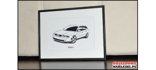 Grafika Audi A4 Avant B5