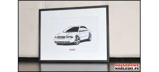 Grafika Audi A4 sedan B5