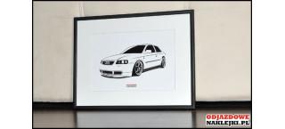 Grafika Audi A3 S line