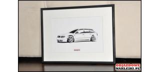 Grafika Audi A4 Avant Airride