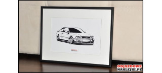 Grafika Audi Coupe
