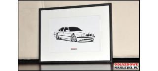 Grafika BMW 7er E38