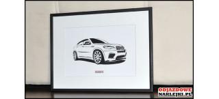 Grafika BMW X6 M