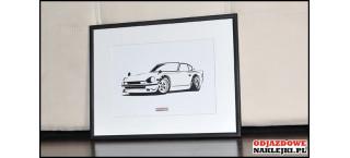 Grafika Datsun Fairlady 240Z