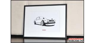 Grafika Nissan Skyline Hakosuka