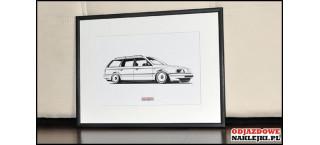 Grafika VW Passat B3 Kombi