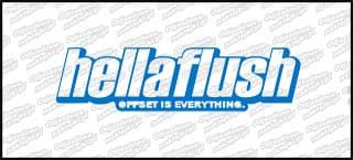 HellaFlush 15cm niebieska