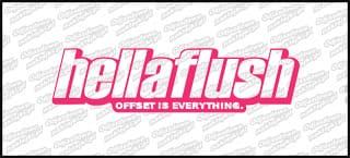 HellaFlush 15cm różowa