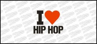 I Love Hip Hop biała