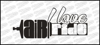 I love Airride 30cm biała