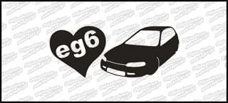 Love EG6 BW 15cm