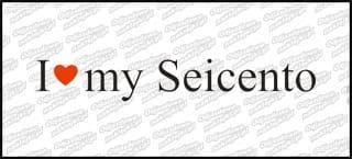 I love my Seicento 20cm biała