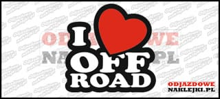 I love Off Road 20cm