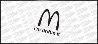 i'm driftin it 15cm