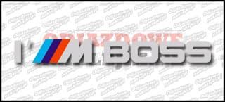 I ///M Boss 20cm Biała