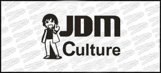 JDM Culture 15cm