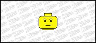 Lego Head A 5cm