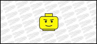 Lego Head B 5cm