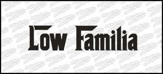 Low Familia 45cm biała