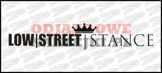 LOW STREET STANCE 45cm
