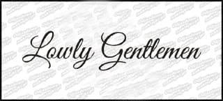 Lowly Gentlemen 20cm