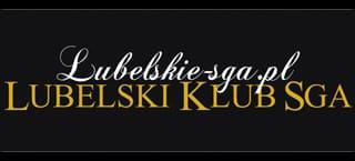 Lubelski Klub SGA 34cm biało złota